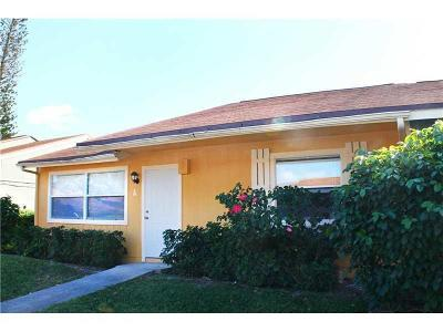 West Palm Beach Single Family Home For Sale: 4816 Orleans Court #A