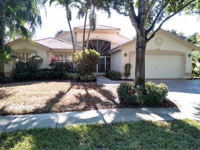 Boynton Beach Single Family Home For Sale: 11756 Cardenas Boulevard