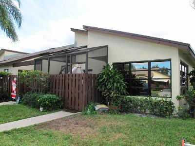 Delray Beach Single Family Home For Sale: 5070 Nesting Way #D