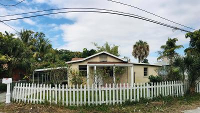 West Palm Beach Single Family Home For Sale: 4581 Steele Street