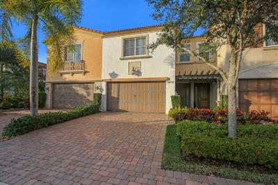 West Palm Beach Townhouse For Sale: 8453 Coco Plum Sound Lane #66