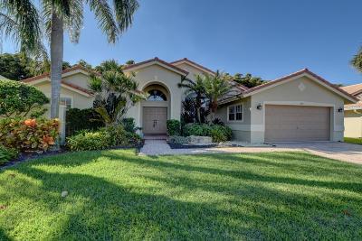 Boynton Beach Single Family Home For Sale: 7440 Falls Road W