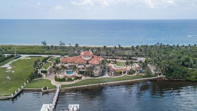 Manalapan Single Family Home For Sale: 1960 S Ocean Boulevard
