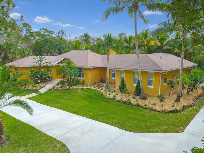 Jupiter FL Single Family Home For Sale: $1,150,000