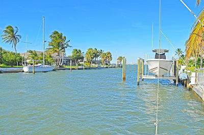 Fort Pierce Single Family Home For Sale: 1709 Sunset Isle Road