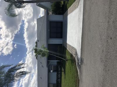 West Palm Beach Single Family Home For Sale: 5306 Garrett Lane