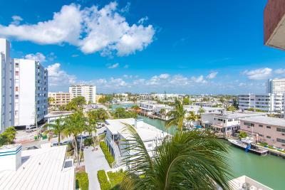 Miami Beach Condo For Sale: 7150 Indian Creek Drive Drive #506