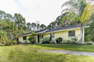Jupiter FL Single Family Home For Sale: $369,000