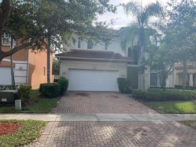West Palm Beach Single Family Home For Sale: 439 Gazetta Way