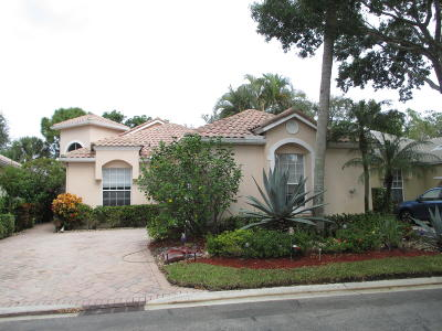 Boynton Beach Single Family Home For Sale: 5279 Brookview Drive