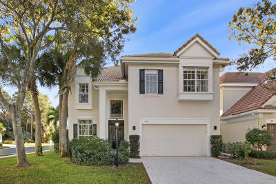 Palm Beach Gardens Single Family Home For Sale: 99 Satinwood Lane