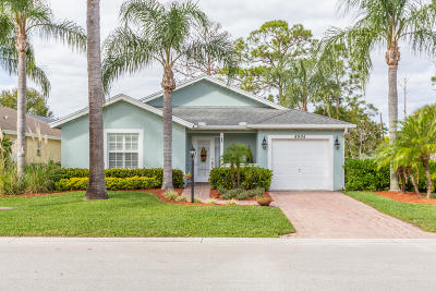 Stuart Single Family Home For Sale: 8904 SW Fishermans Wharf Drive