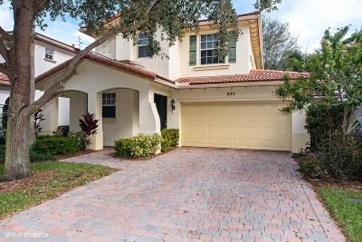 Palm Beach Gardens Rental For Rent: 623 Castle Drive