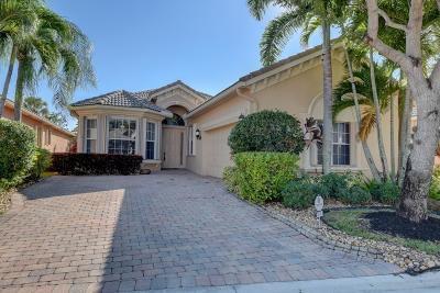 Boynton Beach Single Family Home For Sale: 7074 Veneto Drive
