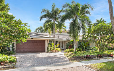 Boca Raton Single Family Home For Sale: 3518 Pine Haven Circle