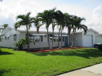 Boynton Beach Single Family Home For Sale: 1707 SW 16th Street