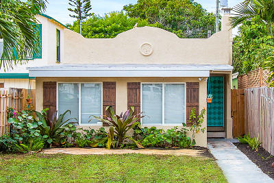 Lake Worth Single Family Home For Sale: 227 M Street