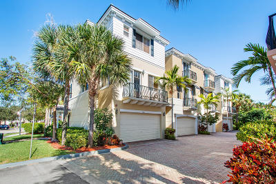 Boca Raton Townhouse For Sale: 3826 NW 5th Terrace