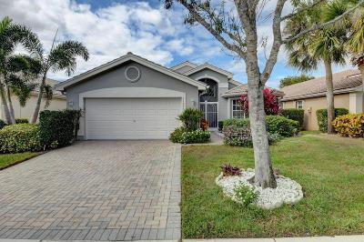 Boynton Beach Single Family Home For Sale: 11901 Habana Avenue