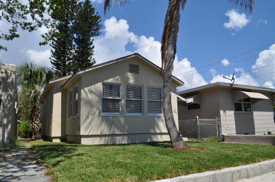 Lake Worth Single Family Home For Sale: 305 S F Street
