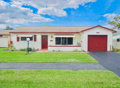 Lake Worth Single Family Home For Sale: 7239 Pine Park Dr W Drive W