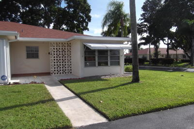 Delray Beach Single Family Home For Sale: 4565 NW 3rd Street #D