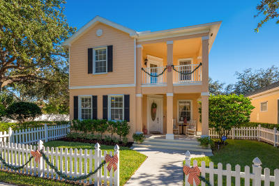 Jupiter Single Family Home For Sale: 131 Rockingham Road