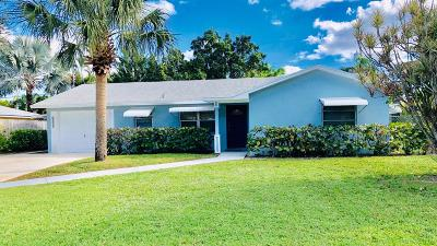 Jupiter Single Family Home For Sale: 1414 Summer Avenue