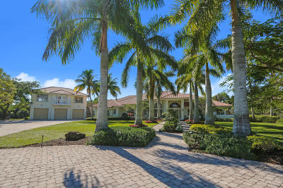 Palm Beach Gardens Single Family Home For Sale: 11440 86th Street