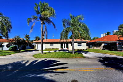 Palm Beach Shores Single Family Home For Sale: 319 Bamboo Road