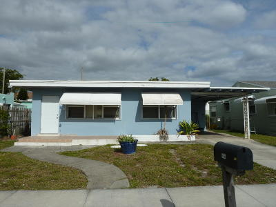 Lake Worth Single Family Home For Sale: 506 Worthmore Drive