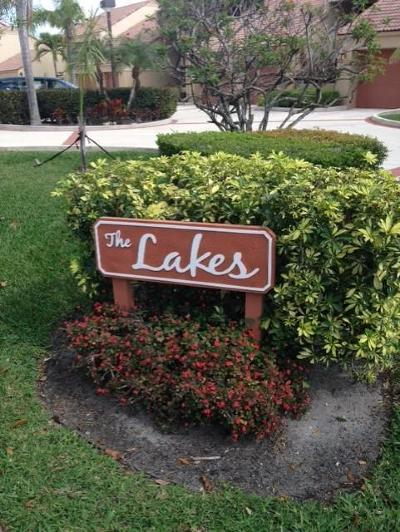Palm Beach Gardens Condo For Sale: 111 Waterview Drive #1110