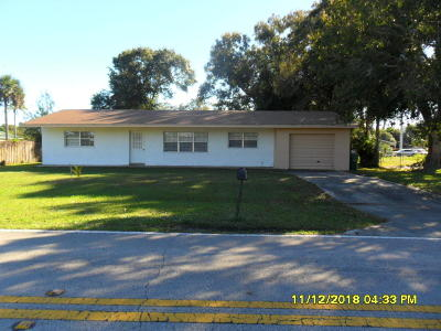 Fort Pierce Single Family Home For Sale