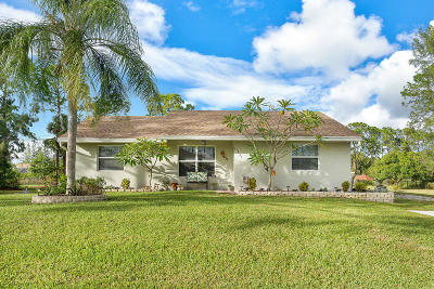 West Palm Beach Single Family Home For Sale: 13845 87th Street