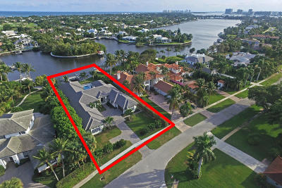 North Palm Beach Single Family Home For Sale: 12184 Captains Landing(S)