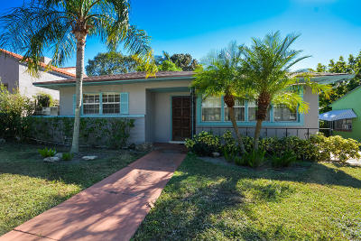 West Palm Beach Single Family Home For Sale: 920 36th Street