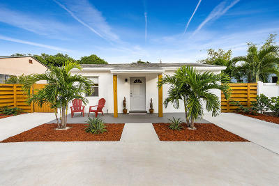 Delray Beach Single Family Home For Sale: 827 SE 2nd Avenue