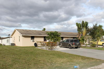 Lake Worth Multi Family Home For Sale: 3973 45th Lane S
