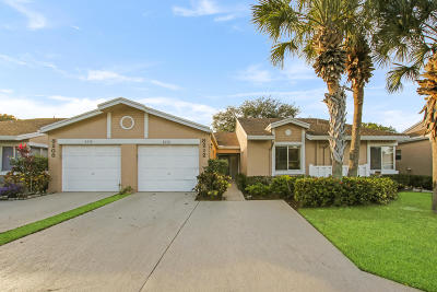 Boca Raton FL Single Family Home For Sale: $174,000