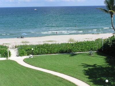 Palm Beach Condo For Sale: 2780 S Ocean Boulevard #607
