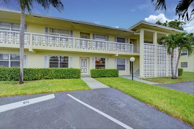 Delray Beach Condo For Sale: 1151 Calamondin Terrace #103