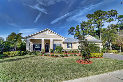 Fort Pierce Single Family Home For Sale: 4416 Belle Grove Drive