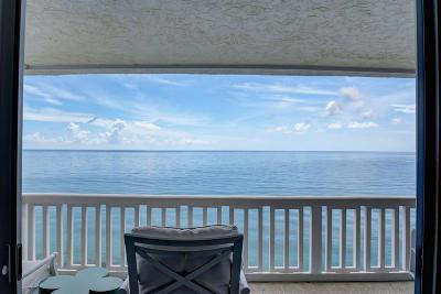 South Palm Beach Condo For Sale: 3570 S Ocean Boulevard #900