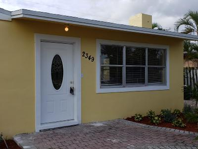 West Palm Beach Single Family Home For Sale: 2349 Fairway Drive