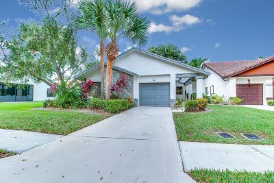 Boynton Beach Single Family Home For Sale: 4727 Boxwood Circle