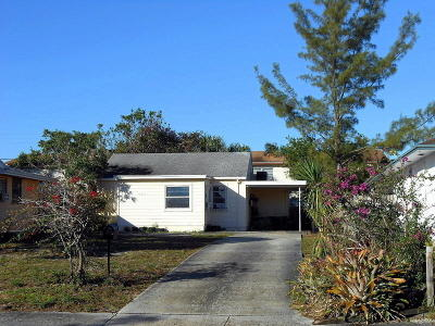 Lake Worth Single Family Home For Sale: 421 S C Street