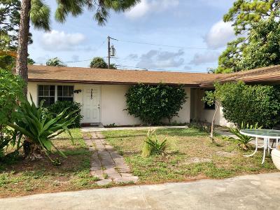 Lake Worth Multi Family Home For Sale: 3581 Laurette Lane