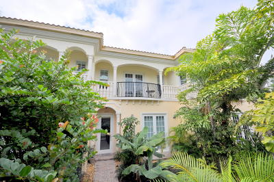 Delray Beach Townhouse For Sale: 2840 Frederick Boulevard