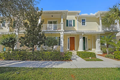 Jupiter Townhouse For Sale: 1347 Jeaga Drive