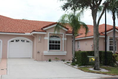 Boca Raton FL Townhouse For Sale: $295,000